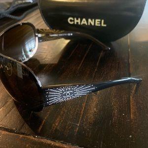 CHANEL Accessories - Authentic Chanel Swarovski crystal sunglasses